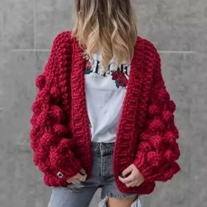 🔥Host Pick🔥Lantern Sleeve Oversized Cardigan
